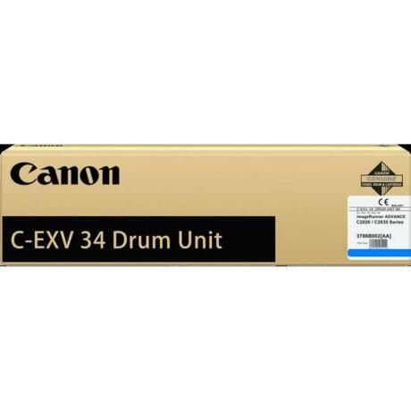 Canon C-EXV34 kék eredeti dobegység
